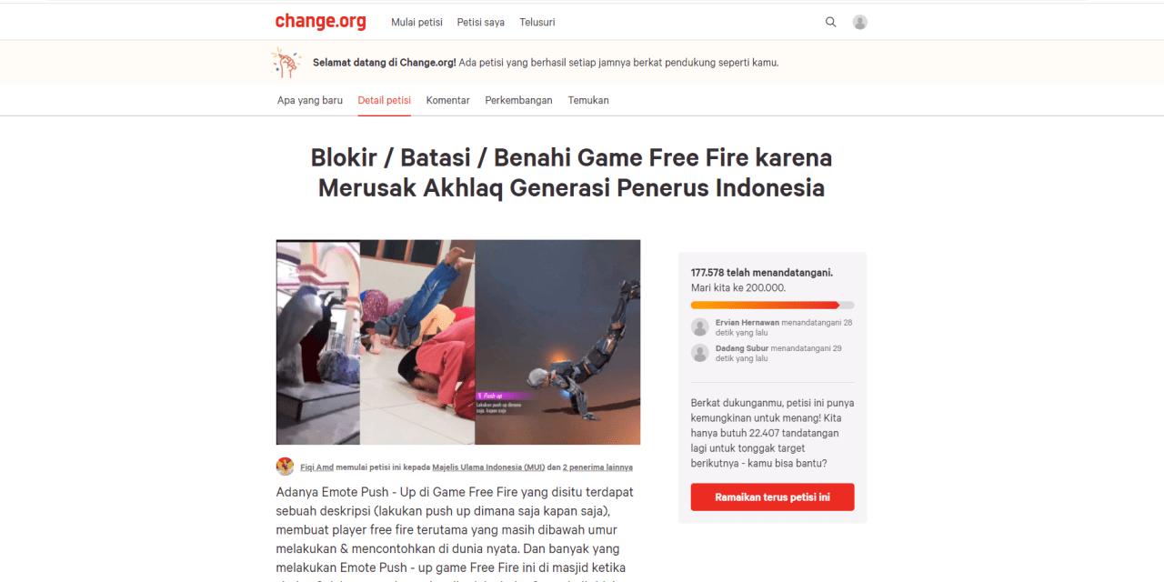 Petisi Blokir Game Free Fire, Kenapa Hapus FF? Ini Cara & Alasannya