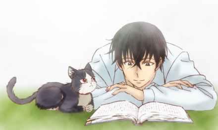 Sinopsis Anime My Roommate is a Cat (Doukyonin wa Hiza, Tokidoki, Atama no Ue)