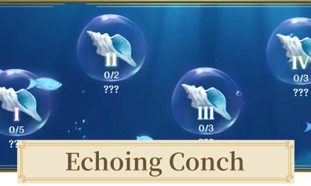 Lokasi Echoing Conch (Keong Bergema) Genshin Impact Hari Pertama