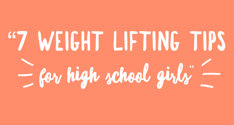 Weight Lifting Tips for High School Girls