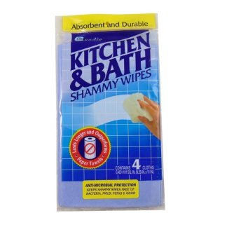 Kitchen and Bath Shammy Cleaning Cloths.