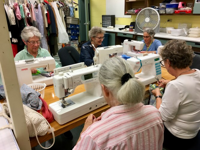 Sewing for Change & The Makery at Hannaford Career Center