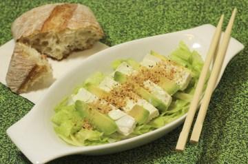 Lila's Delicious Avocado Dessert Salad
