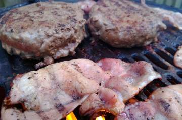Bacon and Blue Burgers