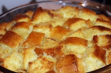Crazy Bread Pudding With Zucchini Milk