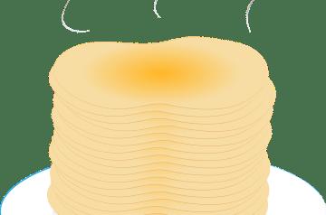 Feather Pancakes