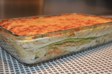 Zucchini Sausage Lasagna