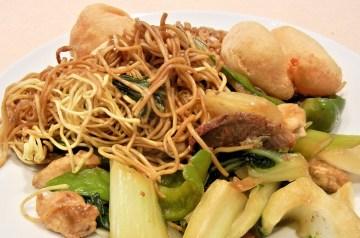 Pork and Shrimp Singapore Noodles