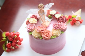 Cool Angel Cake