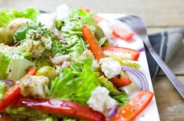 German Farmer's Salad (Bauernsalat)