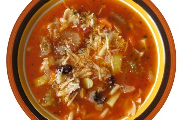 Minestrone Soup With Meat