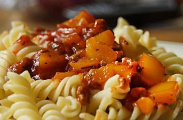 Tomato Nut Pasta Sauce