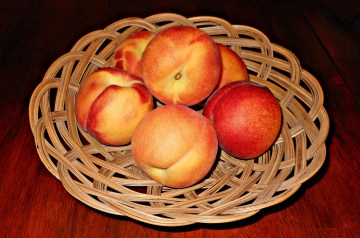 Broiled Peaches
