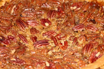 Easy Caramel Pecan Fudge Pie