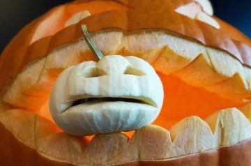 Pumpkin Banana Froth - Halloween