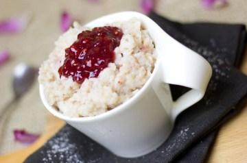 Muhallabia (Ground Rice Pudding)