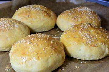 Hamburger Buns (For the Bread Machine)
