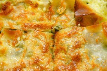 Crust Topped Broccoli and Cheese Casserole