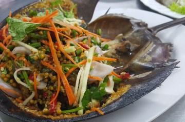 Crab Salad English Muffin Melt