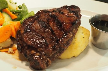 Mom's Swiss Steak Dinner