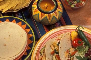 Taco Pollo - Spicy Chicken Filled Tortillas