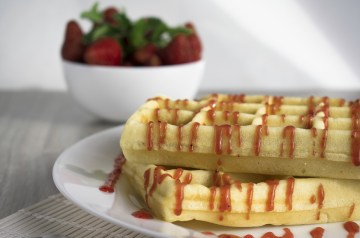 Strawberry Topping for Waffles