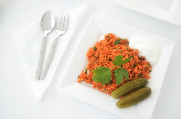 Couscous With Broccoli