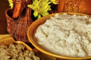 Chile-Corn Mashed Potatoes