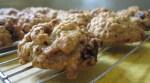 Low Fat Apple Oatmeal Cookies