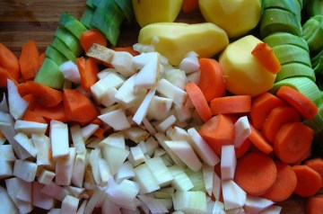 Black Bean Soup With Sweet Potatoes