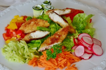 Weight Watchers Chinese Chicken Salad With Creamy Soy Dressing