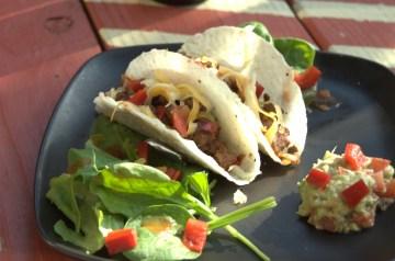 Vegetable Turkey Tacos