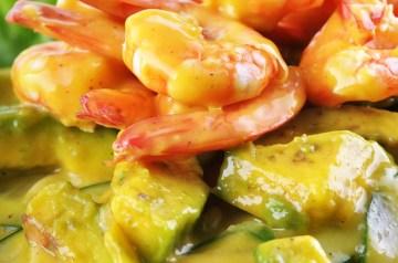 Artichoke Avocado Shrimp Salad
