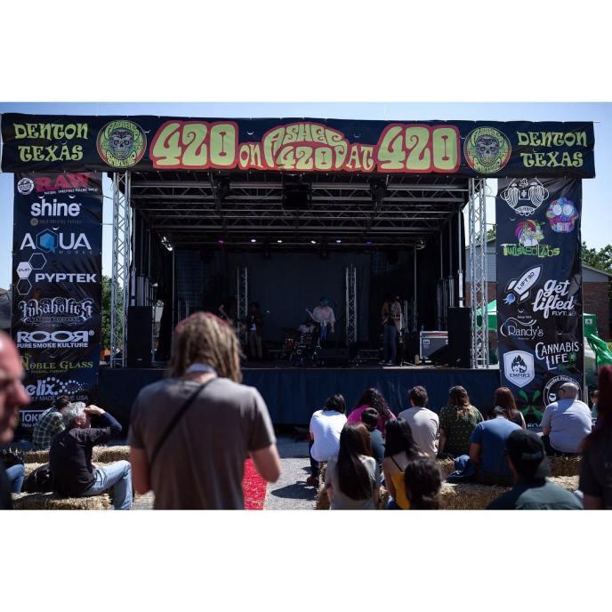 2018 4_20 Fest Denton Tx