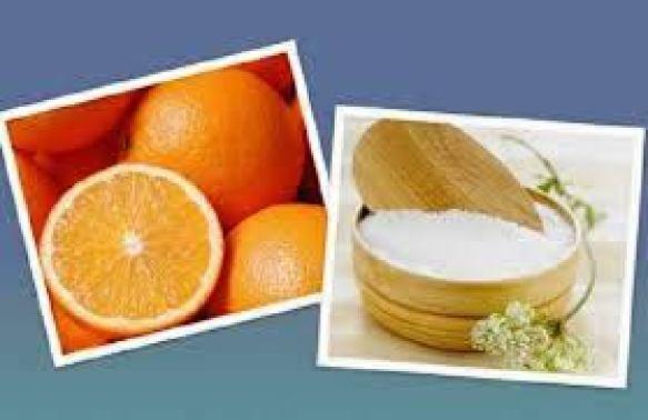 Tẩy tế bào chết =đường&cam