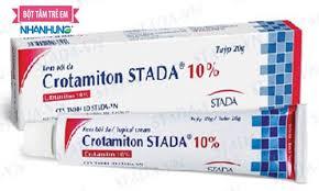 Cách dùng thuốc trị ghẻ ngứa Crotamiton