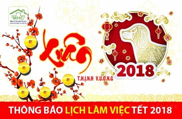 thong bao lich lam viec tet 2018 medi health care