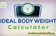 Tính cân nặng lý tưởng – IBW Calculator