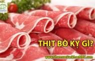 Những thực phẩm tuyệt đối không sử dụng chung với thịt bò