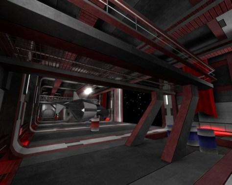 Intérieur de Linuxus - Salle d'hibernation