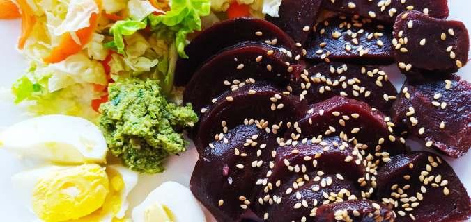 salade fraîche betteraves