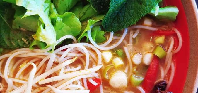 bouillon vietnamien citronnelle