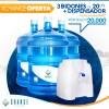 Kit con oferta 3 bid 20L + disp básico