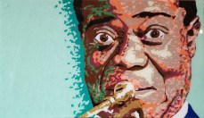 Louis Armstrong | Hilton Hotel Commissioned Piece | Cleveland, OH