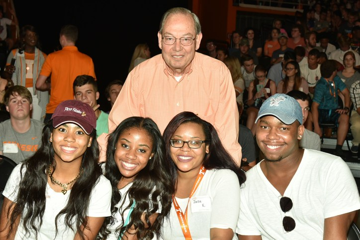 Chancellor Cheek with new Vols