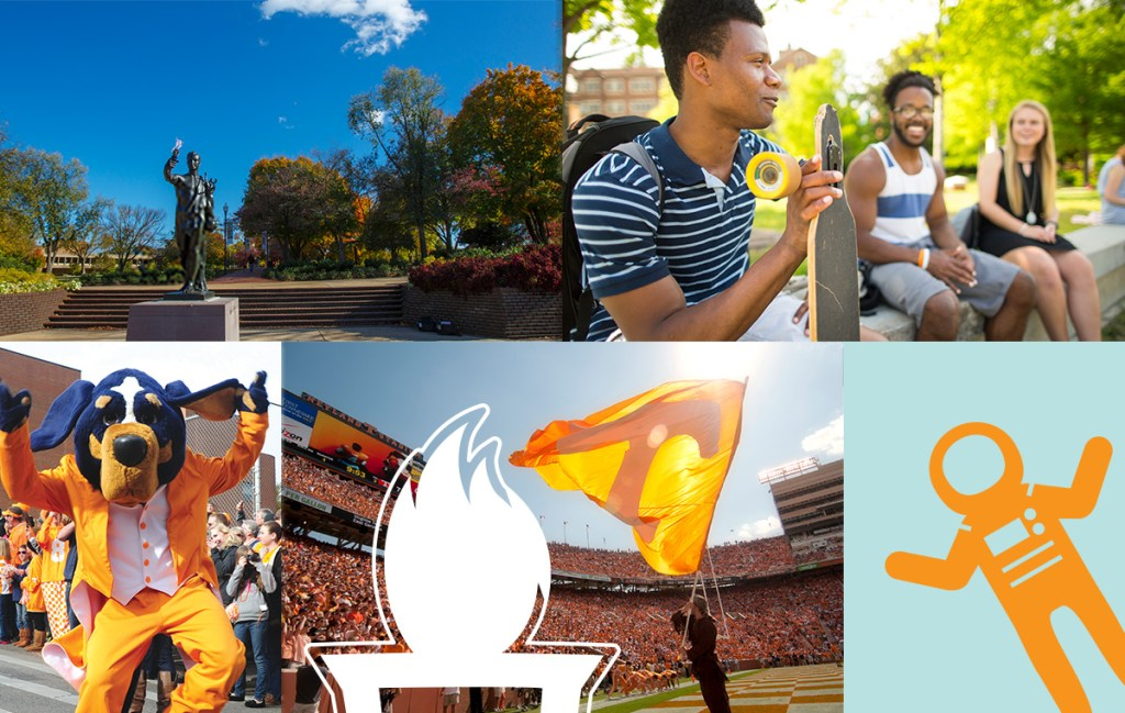 Featured Image collage of UT photos