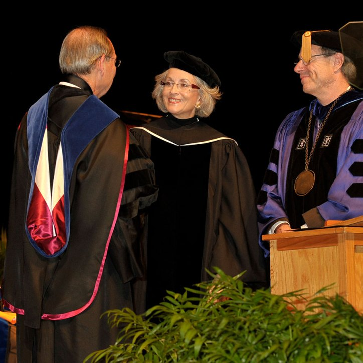 Chancellor Cheek's investiture
