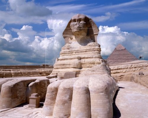 Egyptsphinxpyramidgizacairo