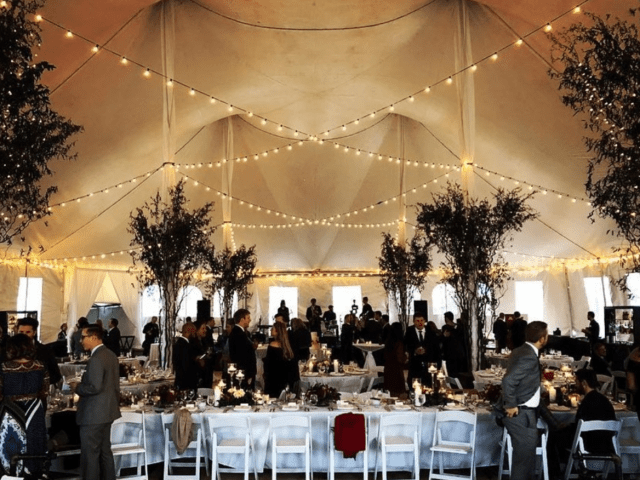 Chance Productions - The Edgewater - Madison, WI bulbs, string lights, tent, wedding, lighting, custom