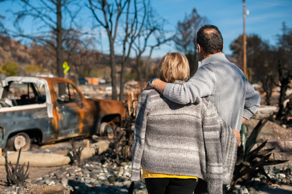 Give Money to Someone Who Lost Their Home